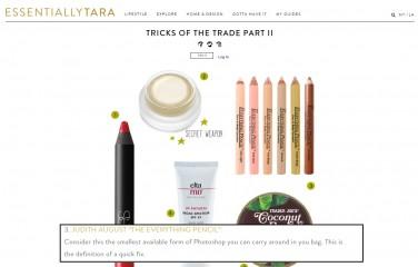 tara lapinski blog