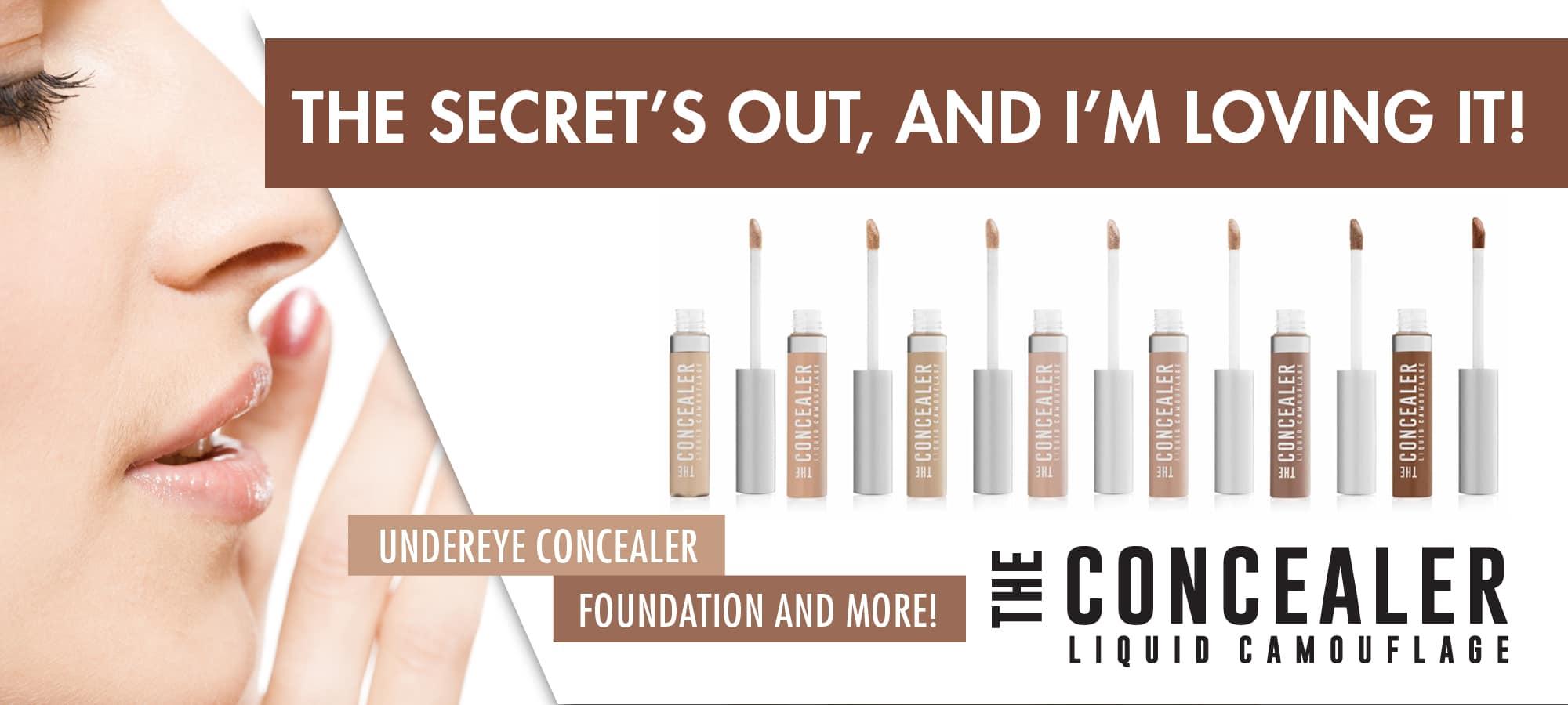 the concealer banner